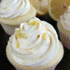 Lemon Cupcakes with Lemon Buttercream
