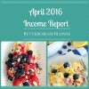 Income Report - April 2016